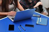 Programmer, Mobile Application Designers, Web Designer Working At Office. Teamwork And Programming W poster
