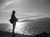 Fisherman In Italy