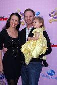 LOS ANGELES - NOV 10:  Erin Ludwig, Mia Loren Ziering, Ian Ziering arrive at the