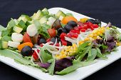 Healthy Southwest Cobb Salad