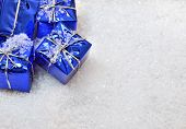 Christmas Gifts In The Snow