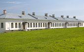 Orlovsky Building Yuriev Monastery. Veliky Novgorod