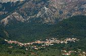 Potamia Village At Thasos Island In Greece