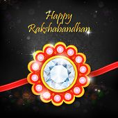 foto of rakhi  - illustration of decorative rakhi for Raksha Bandhan - JPG