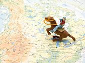 Cowboy Toys On Map