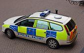 British Police Car 1
