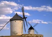 Spanish Windmills La Mancha 2