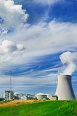 Kerncentrale doel in de zomer
