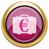 Magenta Glossy Icon