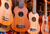 stock photo of ukulele  - Ukulele guitar for sell - JPG
