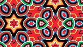 Pattern of geometric shapes, background