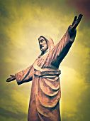 Statue of Christ - Cusco Peru