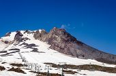 Mount Hood Summit And Chairlift