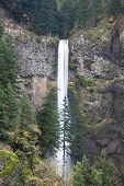 Multnomah Falls in Portland Oregon state, USA