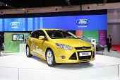 Bangkok - March 26: Ford Focus Car On Display At The 34Th Bangkok International Motor Show On March