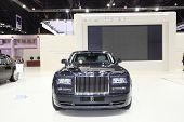 Bangkok - March 26: Rolls-royce Car On Display At The 34Th Bangkok International Motor Show On March