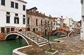 Venice Castello Bridges