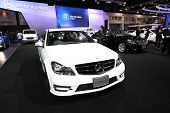 Nonthaburi - November 28:mercedes-benz C200 Cgi Car On Display At The 30Th Thailand International Mo