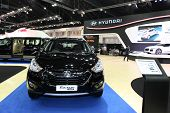 Nonthaburi - November 28: Hyundai Tucson Car On Display At The 30Th Thailand International Motor Exp