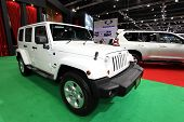 Nonthaburi - November 28: Jeep Wrangler Unlimited Car On Display At The 30Th Thailand International