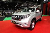 Nonthaburi - November 28: Toyota Land Cruiser Prado Car On Display At The 30Th Thailand Internationa