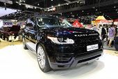 Nonthaburi - November 28: Range Rover The All New Range Rover Sport Car On Display At The 30Th Thail