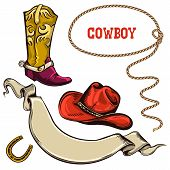 Cowboy American Objects