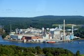 Paper Mill On A River In Maine