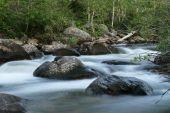 glatte Wasserfall stream