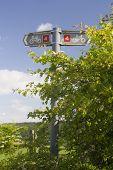 Cyclepath Sign, UK.