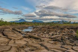 stock photo of canaima  - Highly detailed image of Canaima National Park Venezuela - JPG