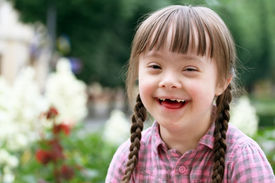 picture of playgroup  - Portrait of beautiful young girl smiling in park - JPG