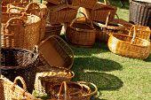 wicker baskets handmade
