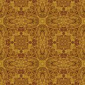 Seamless graphic pattern on veneer