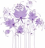 Floral Design, Stylized Flowers