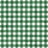Green Gingham Pattern Repeat Background