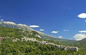 Caramanico Terme is a small touristic town among Majella Mounts, Abruzzo region, Italy