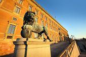 Sweden, Stockholm, old town (Gamala Stan), Royal Palace (Kungliga Slottet)
