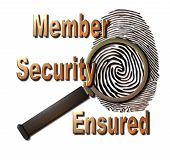Member Security Ensured