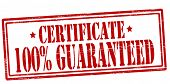 Certificate Guaranteed