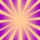 Retro Rays background 2