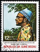 Postage Stamp Guinea-bissau 1984 Amilcar Cabral, Political Leade