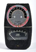 Vintage photo light meter