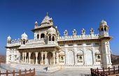 stock photo of mausoleum  - Jaswant Thada mausoleum in Jodhpur India  - JPG