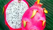 stock photo of flesh  - Dragon fruit  - JPG