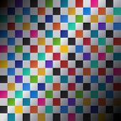 Colored squares abstract background