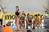 FARO - JULY 19: Tatoo competition awards at the XXXIII - International Motorcycle Meeting in Faro, P