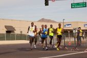 Competitors in the 2010 Phoenix Marathon
