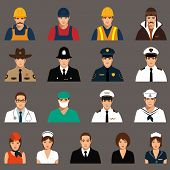workers, profession people