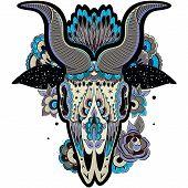 Cool Goat Skull